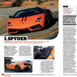 Lamborghini Gallardo Spyder Performance - Paul Maric - Men's Fitness Magazine
