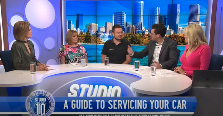 Paul Maric speaking on Studio Ten about servicing and maintaining your car